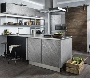 Küche Silverstar mit Licht