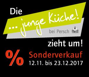 Sonderverkauf vom 12.11. bis zum 23.12.2017 bei junge Küche in Sontra